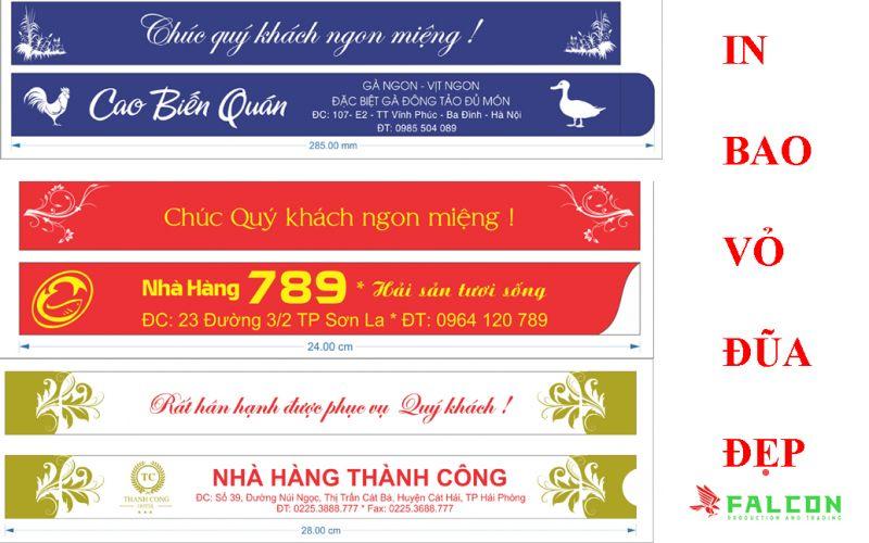 In bao đũa giá rẻ tại Hà Nội