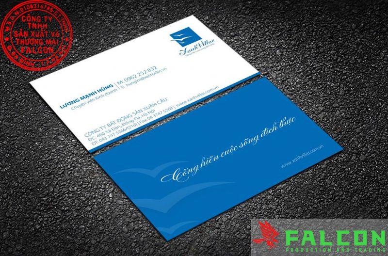 Thiết kế và in card visit chuyên nghiệp